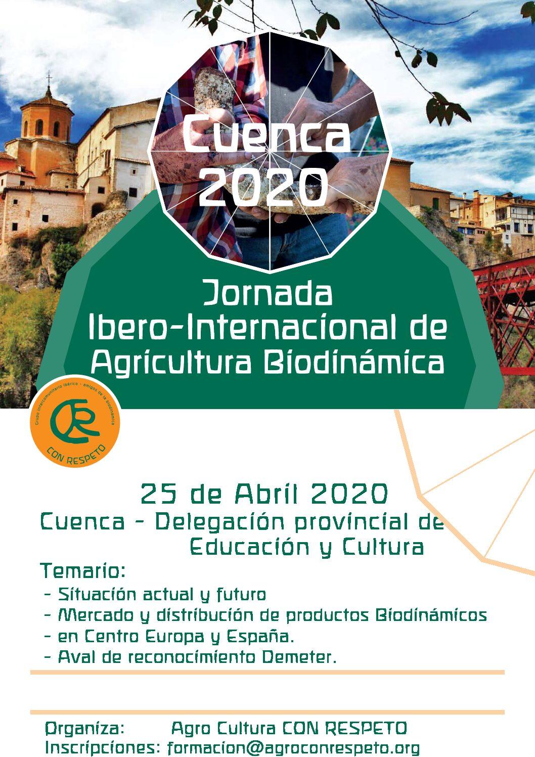 Jornada Ibero Internacional Agricultura Biodinámica