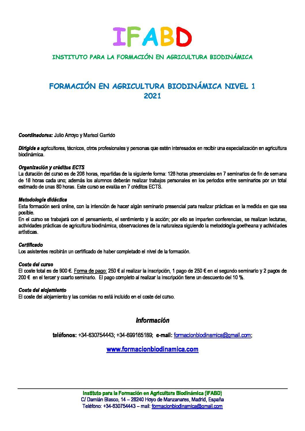 FORMACIÓN EN BIODINÁMICA-N1-IFABD