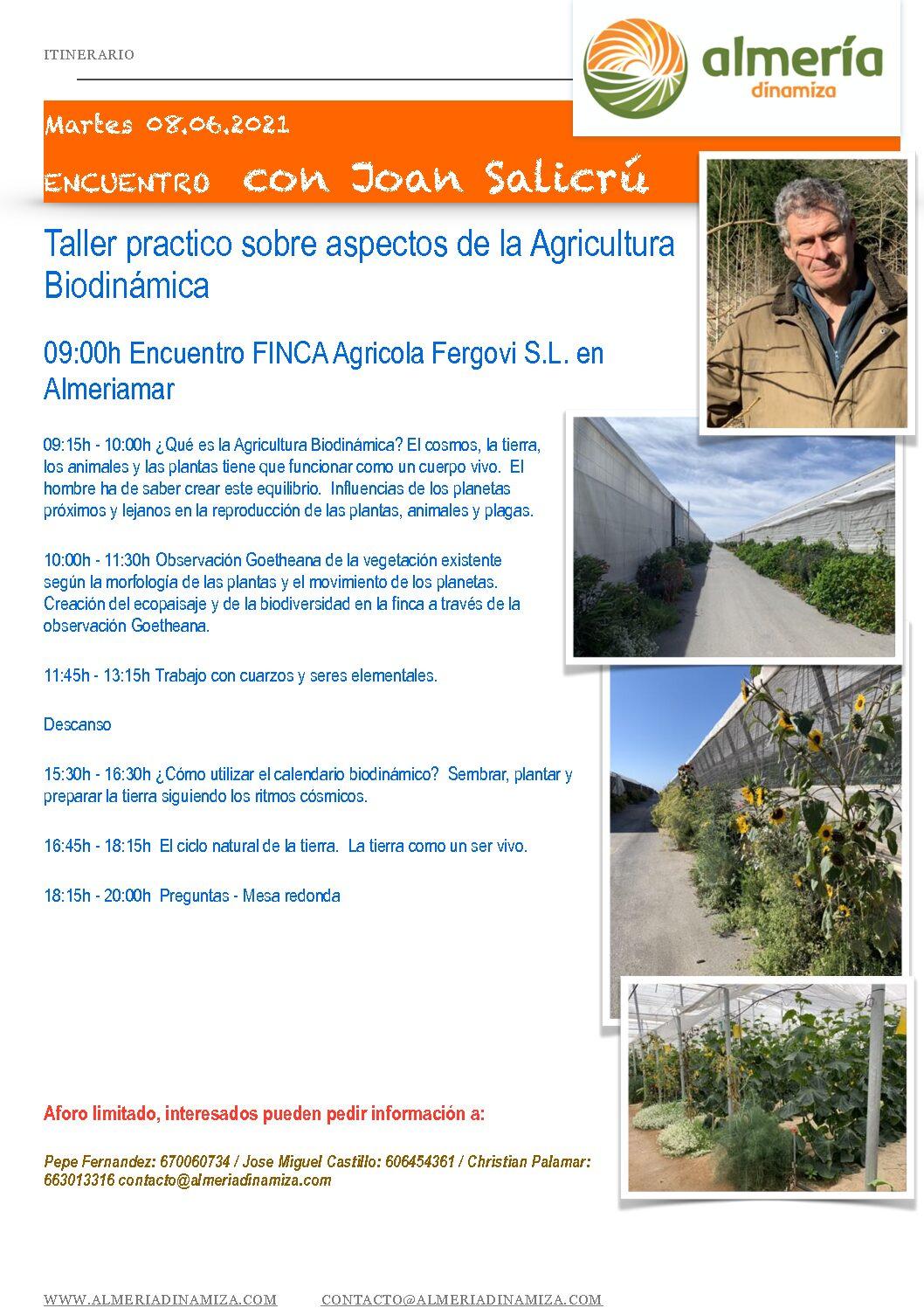 TALLER PRACTICO AGRICULTURA BIODINAMICA