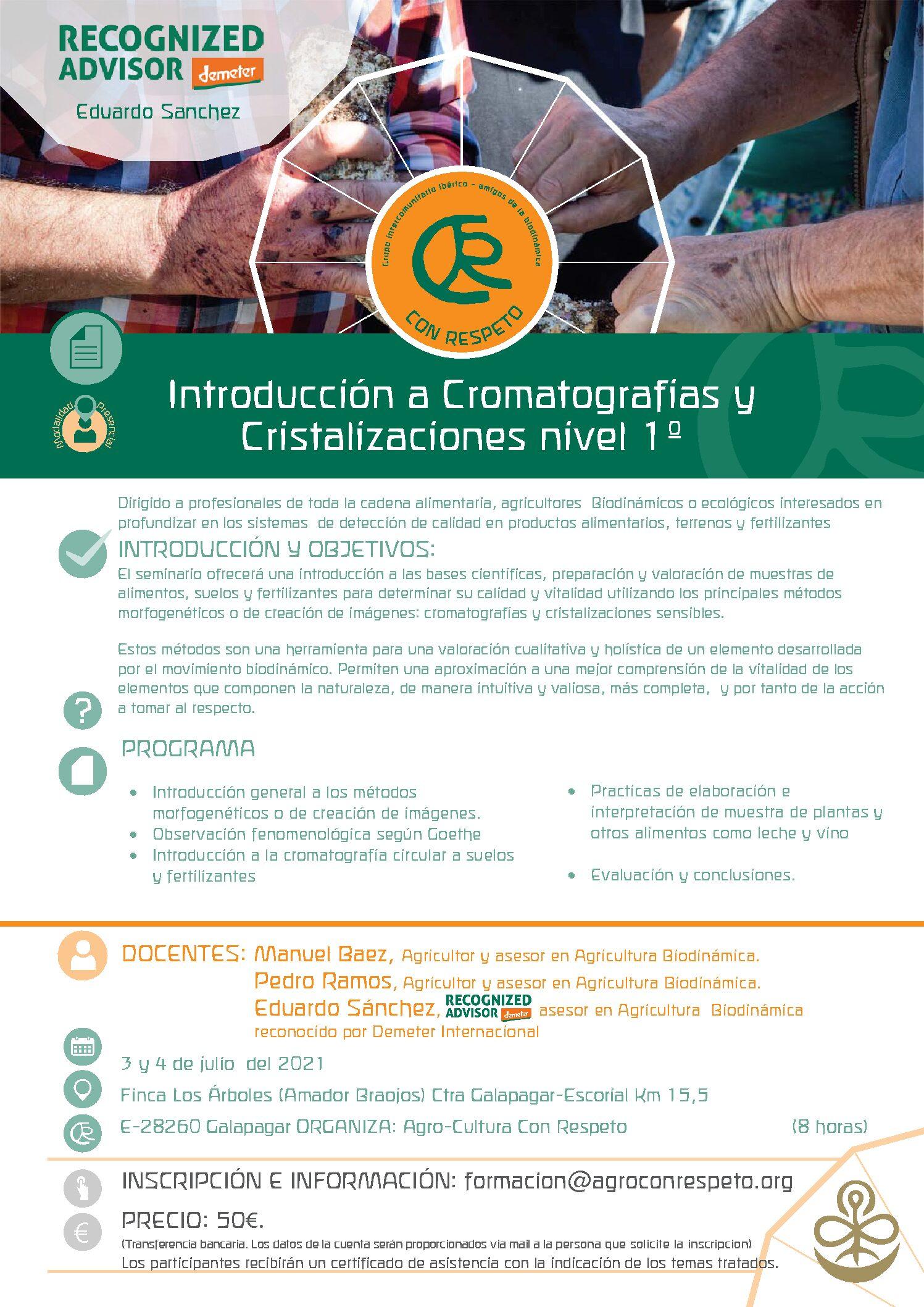 Introducción a Cromatografias y Cristalizaciones N-1
